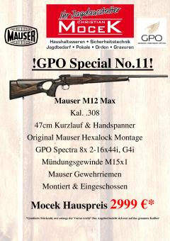 Mauser M12 Max, mit GPO Spectra 8x 2-16x44i G4i