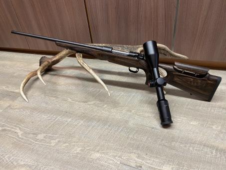 Mauser M12 Max, mit Leica Fortis 6 2,5-15x56, inkl. Schaftrückenverstellung